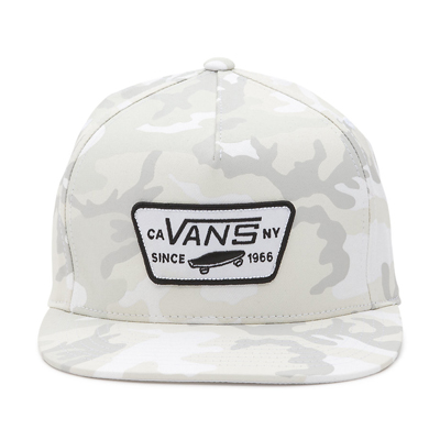 BONE VANS FULL PATCH SNAPBACK SNOW CAMO