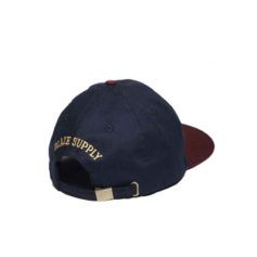 BONE BLAZE SUPPLY STRAPBACK PIPE BLUE GOLD