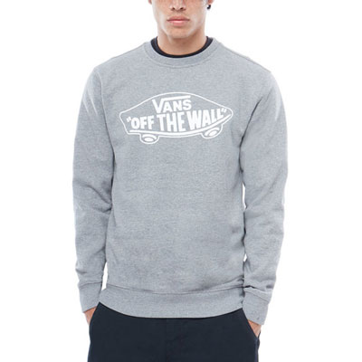 MOLETOM CARECA VANS OTW CREW ATHLETIC HEATHER