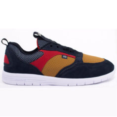 TENIS HOCKS BORN NAVY RED