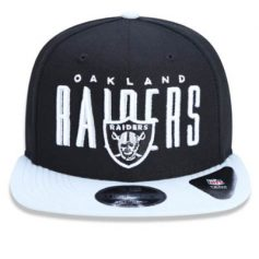 BONE NEW ERA 950 ORIGINAL FIT OAKLAND RAIDERS NFL