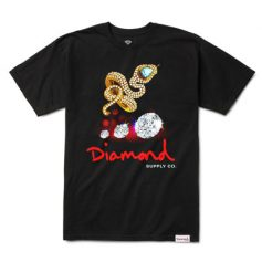 CAMISETA DIAMOND SUPPLY SNAKE TEE