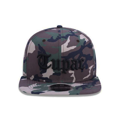 BONE NEW ERA 950 OF TUPAC TIPO CAMO - MILITAR