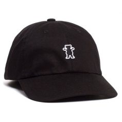 BONE GRIZZLY OG BEAR DAD HAT BLACK