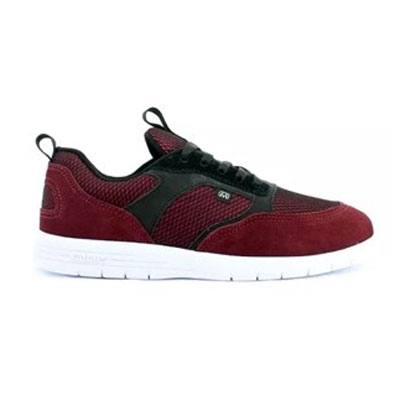 TENIS HOCKS BORN BURGUNDY BLACK