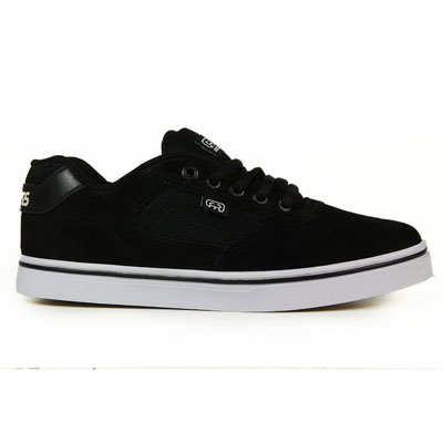 TENIS HOCKS FLAT LITE BLACK WHITE