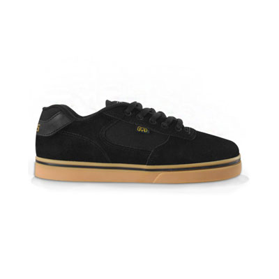 TENIS HOCKS FLAT LITE PRETO NATURAL