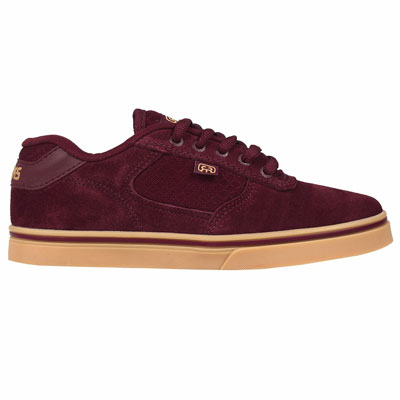 TENIS HOCKS FLAT LITE BURGUNDY