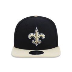 BONÉ NEW ERA 950 ORIGINAL FIT NEW ORLEANS SAINTS NFL - PRETO