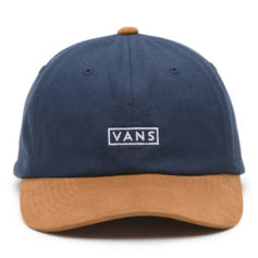BONE VANS CURVED BILL JOCKEY BLUE KHAKI