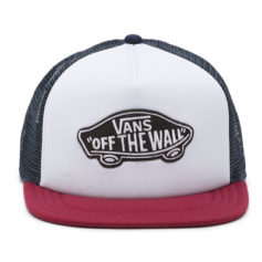 BONE VANS CLASSIC PATCH TRUCKER WHITE RHUMBA