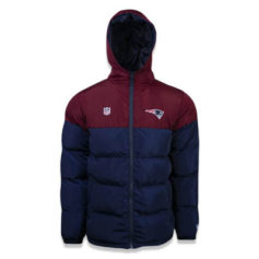 JAQUETA NEW ERA BOMBER NEW ENGLAND PATRIOTS NFL
