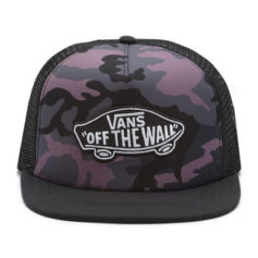 BONE VANS CLASSIC PATCH TRUCKER PLUS BLACK PLUM