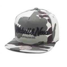 BONE MITCHELL AND NESS PINSCRIPT CAMO CINZA