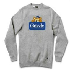 MOLETOM GRIZZLY TRAVEL BEAR CREWNECK