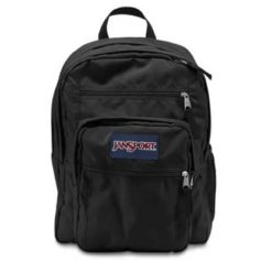 MOCHILA JANSPORT BIG STUDENT - BLACK