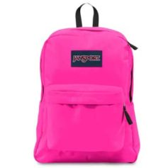 MOCHILA JANSPORT SUPERBREAK - ULTRA PINK