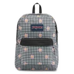 MOCHILA JANSPORT SUPERBREAK - GINGHAM DAISY