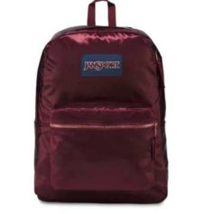 MOCHILA JANSPORT HIGH STAKES - RUSSET RED/ROSE GOLD