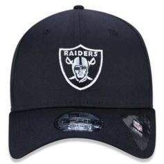 BONÉ NEW ERA NFL OAKLAND RAIDERS BASIC PRETO