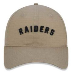 BONÉ NEW ERA NFL OAKLAND RAIDERS ESSENTIALS GROUND KAKI