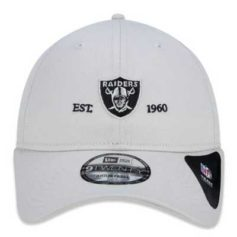 BONÉ NEW ERANFL OAKLAND RAIDERS ESSENTIALS BASIC OFF WHITE