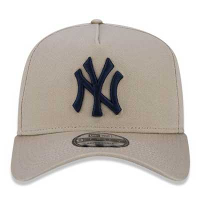 BONÉ NEW ERA 9FORTY CURVA NY YANKEES BEGE