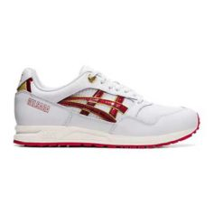 TENIS ASICS GELSAGA WHITE SPEED RED