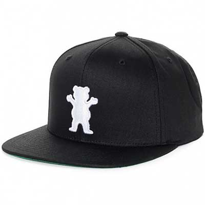 HEADWEAR GRIZZLY OG BEAR SNAPBACK