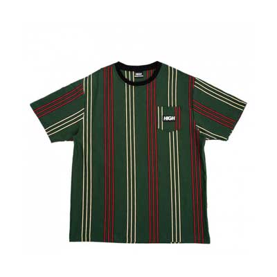 CAMISETA HIGH CO. TEE POCKET VERTICAL KIDS GREEN